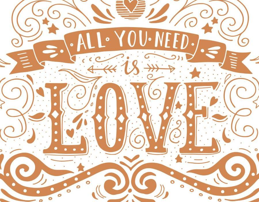 Fotokoutek - All you need is love